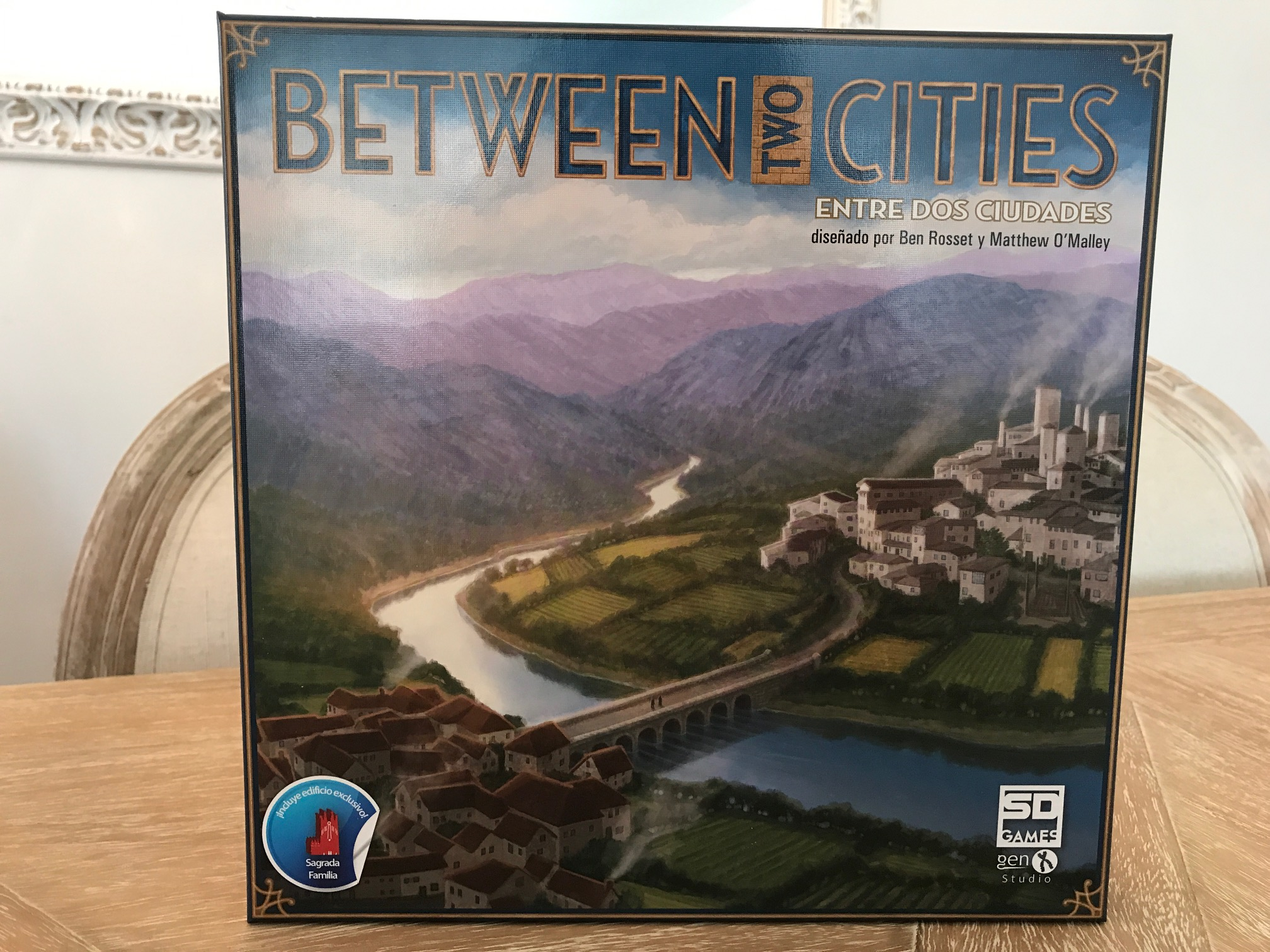Hoy descubrimos… Between two cities